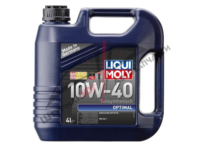 LIQUI MOLY OPTIMAL 10W-40  Масло моторное