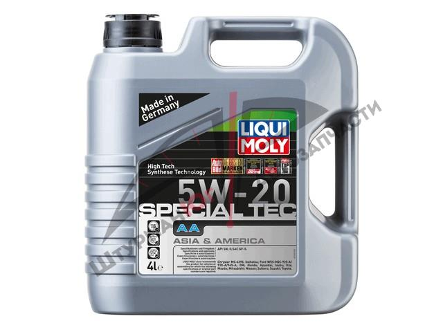 LIQUI MOLY LEICHTLAUF SPECIAL AA 5W-20  Масло моторное