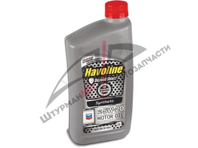 CHEVRON HAVOLINE Synthetic MOTOR OIL 5W-20  Масло моторное