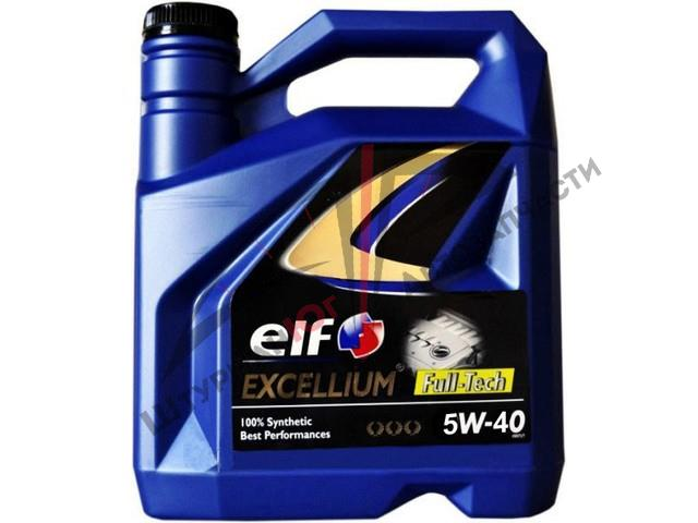 ELF EXCELLIUM FULL-TECH 5W-40  Масло моторное