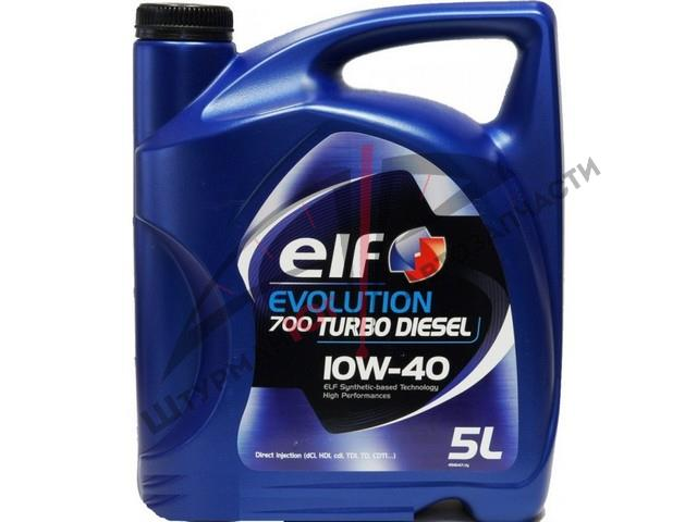 ELF EVOLUTION 700 TURBO DIESEL 10W-40  Масло моторное