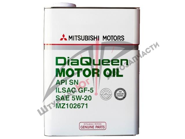 MITSUBISHI DiaQueen 5W-20  Масло моторное