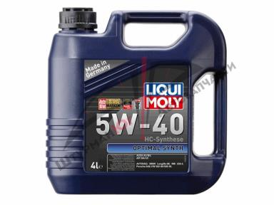 LIQUI MOLY OPTIMAL SYNTH 5W-40  Масло моторное
