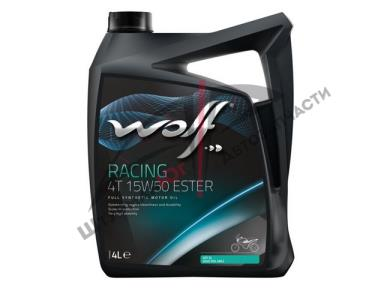 WOLF Racing 4T 15W-50  Масло моторное